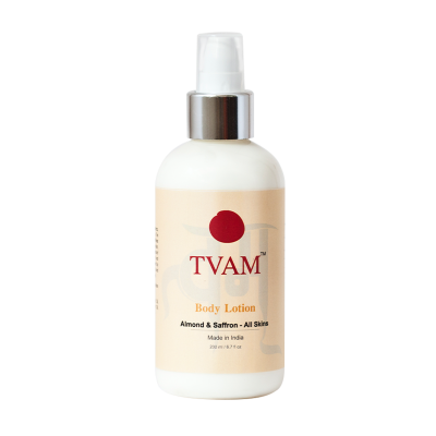 All-Natural Body Lotion with Almond & Saffron