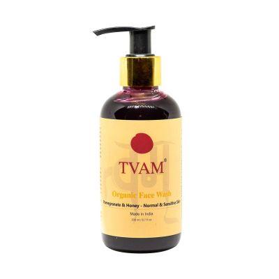 All Natural Face Wash - Pomegranate & Honey For Normal & Sensitive Skin