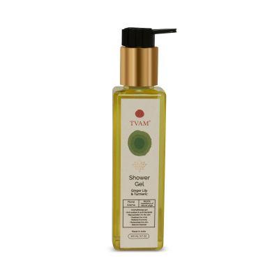 Organic Aromatherapy Shower Gel - Ginger Lily & Turmeric