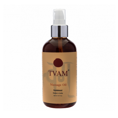 Aromatherapy Body Massage Oil - Sandalwood