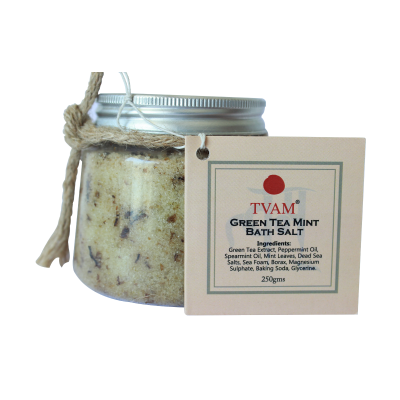 All Natural Bath Salts Green Tea Mint