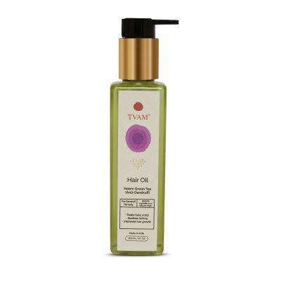 Neem & Green Tea Anti-Dandruff Hair Oil