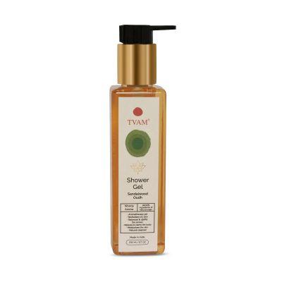 Organic Aromatherapy Shower Gel - Sandalwood Oudh