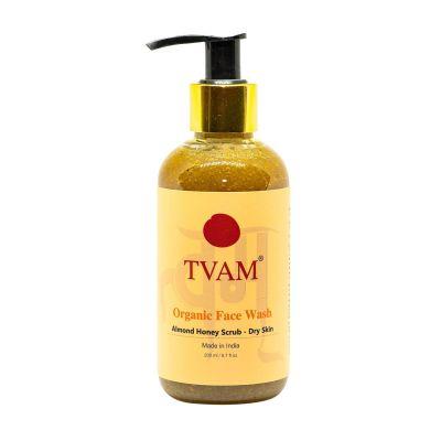 Face Wash - Almond Honey Scrub - Dry Skin - 200ml