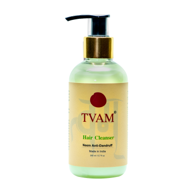 Anti-Dandruff Hair Cleanser - Neem Green Tea