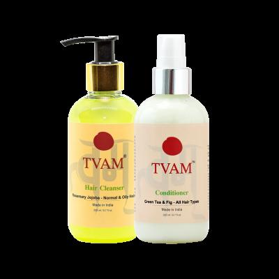 Shampoo  - Rosemary & Jojoba + Aloevera & Henna Conditioner COMBO