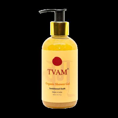 Luxury Scrub & Body Polisher - Sandalwood Oudh + Aromatheraphy Shower Gels - Sandalwood Oudh